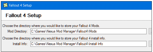 How to Mod Fallout 4 setup