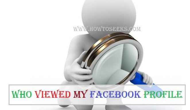 How To See Who who viewed my facebook profile