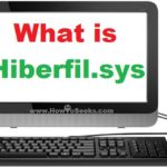 What is Hiberfil sys