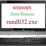 Windows host process rundll32.exe