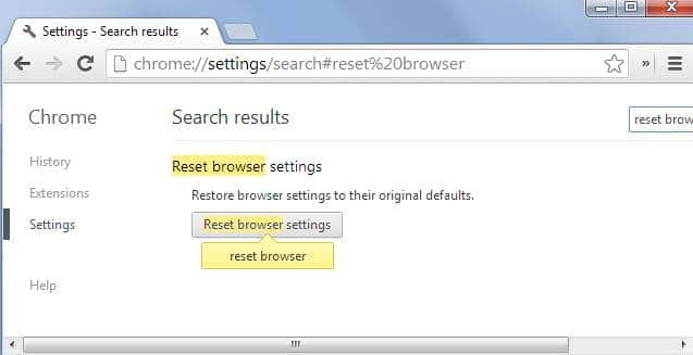 restart browser chrome