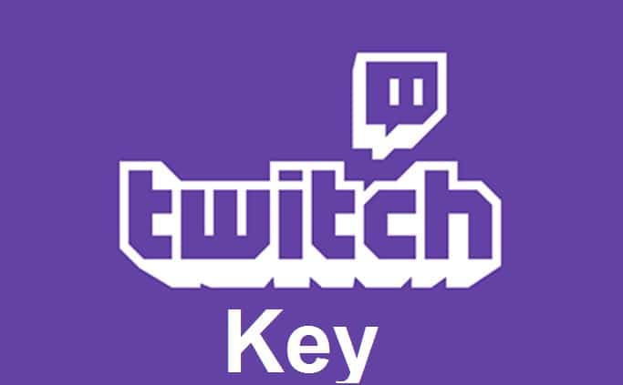 How to twitch stream key